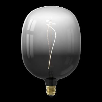 Calex Avesta  Ø170 - E27 - 80 Lumen – Schwarz - Vintage Lampe