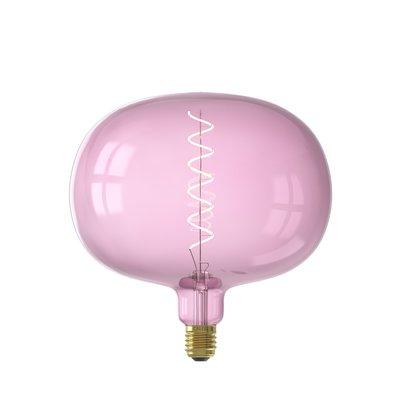 Calex Boden Ø220 - E27 - 150 Lumen – Rosa - Vintage Lampe