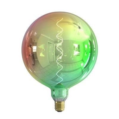 Calex Kalmar Ø200 - E27 - 40 Lumen – Opal - Vintage Lampe