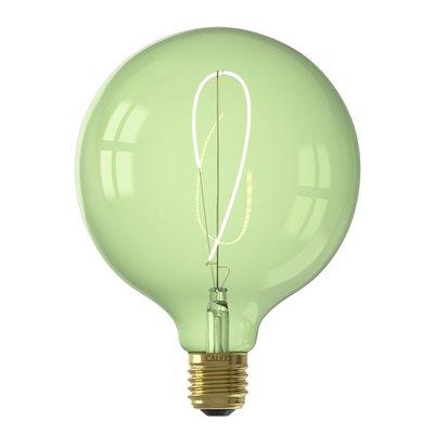 Calex Nora G125 - Ø125 - E27 - 130 Lumen – Grün - Vintage Lampe