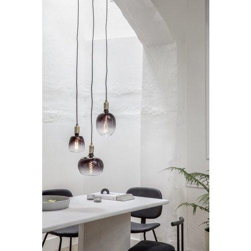Calex Calex Nora G95 -  Ø95 - E27 - 130 Lumen – Schwarz - Vintage Lampe