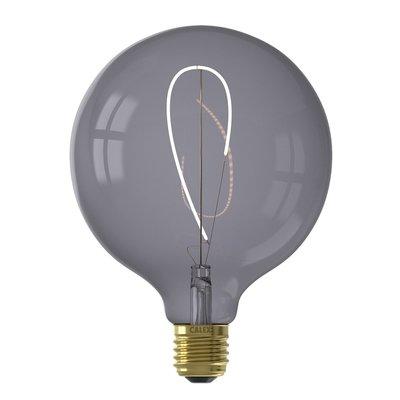 Calex Nora G125 -  Ø125 - E27 - 130 Lumen – Schwarz - Vintage Lampe