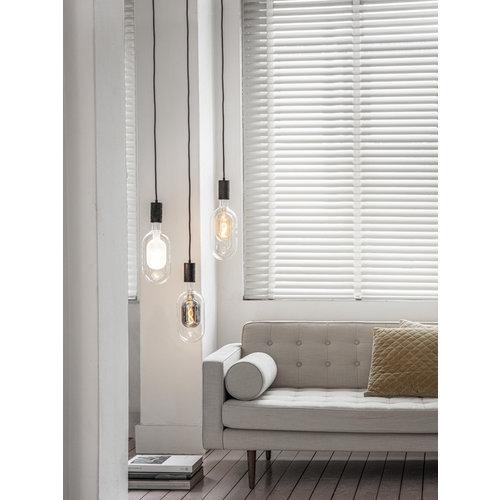 Calex Calex Sundsvall  -  Ø150 - E27 - 100 Lumen – Titan - Vintage Lampe