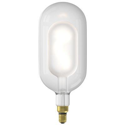 Calex Sundsvall  -  Ø150 - E27 - 250 Lumen - Frosted - Vintage Lampe
