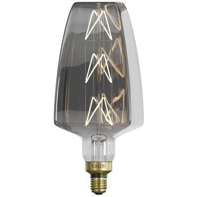 Calex Situna Ø140 - E27 - 230 Lumen - Titan - Vintage Lampe