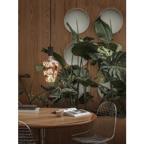 Calex Calex Situna Ø140 - E27 - 230 Lumen - Titan - Vintage Lampe