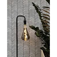 Calex Calex Xabia Ø164 - E27 - 90 Lumen - Titan - Vintage Lampe