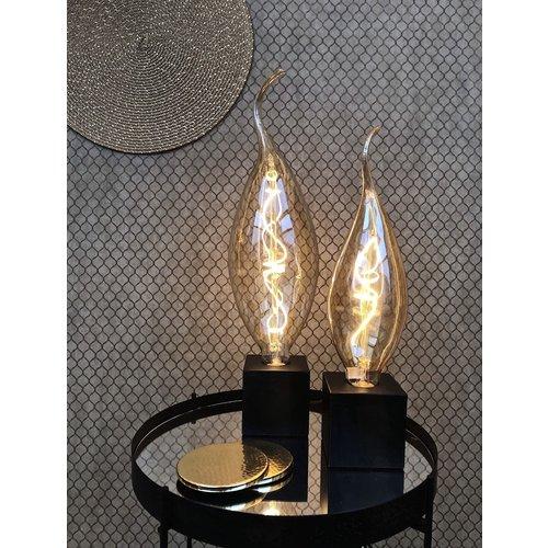Calex Calex Calpe Ø95 - E27 - 140 Lumen - Gold - Vintage Lampe