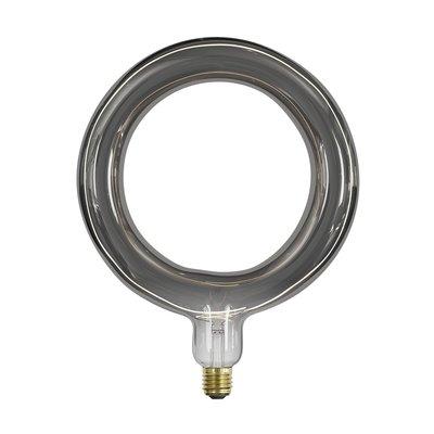 Calex Rada Ø264 - E27 - 120 Lumen - Titan - Vintage Lampe