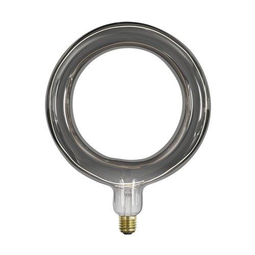 Calex Calex Rada Ø264 - E27 - 120 Lumen - Titan - Vintage Lampe