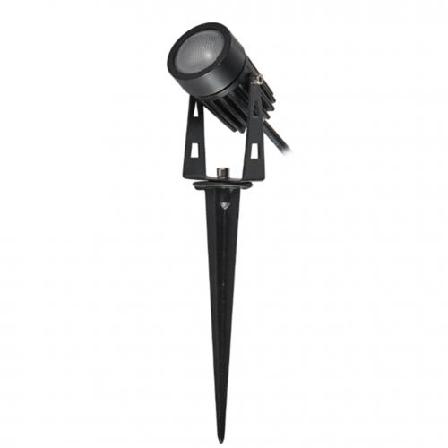 Beleuchtungonline.de LED Gartenstrahler 5W - IP65 - 5000K - Integrierte LED