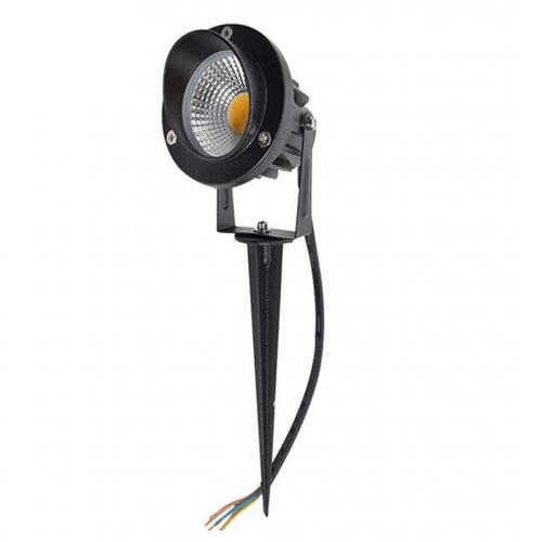 Beleuchtungonline.de LED Gartenstrahler 7W - IP65 - 5000K - Integrierte LED