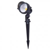 Beleuchtungonline.de LED Gartenstrahler 10W - IP65 - 2700K - Integrierte LED