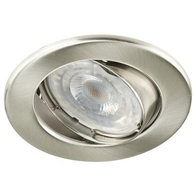 LED Einbaustrahler 12V Edelstahl - Dimmbar - 5.5W - Warmweiß