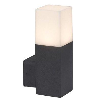 LED Wandleuchte Square Schwarz GU10 - Exkl. Spot