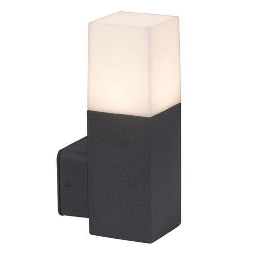 Beleuchtungonline.de LED Wandleuchte Square Schwarz GU10 - Exkl. Spot
