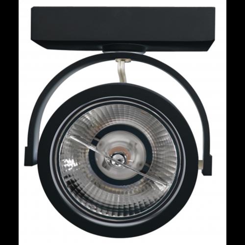 Beleuchtungonline.de LED Aufbaustrahler Schwarz Kippbar - AR111
