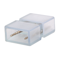 Beleuchtungonline.de 2-Stifte wasserdichte Verbindung für LED Strip 180 LEDs - 10 Stück