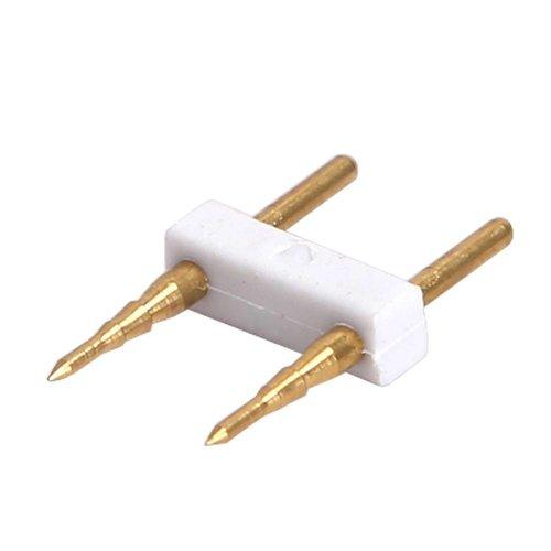 Beleuchtungonline.de 2-Pins Connector für LED Strip 180 LEDs - 10 Stück