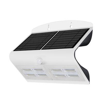 Solar Gartenleuchte mit Bewegungssensor - 7W - 4000K - 800 Lumen - Weiß