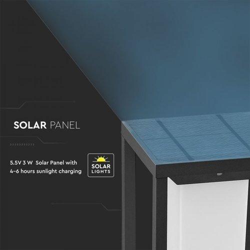 Lightexpert Samsung Solar Gartenleuchte mit Bewegungssensor - 2W - 3000K - 280 Lumen