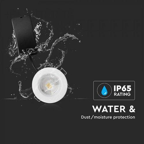 Samsung LED Einbaustrahler Samsung 5W – IP65 – 3000K - Integrierte LED
