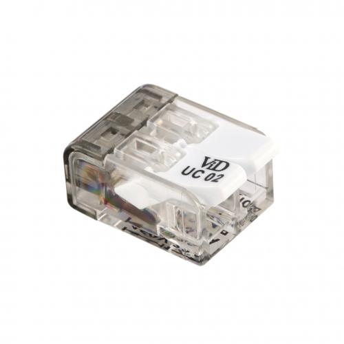 VID Schweißklemme / Verbindungsklemme - 2-fach - 2x4mm²