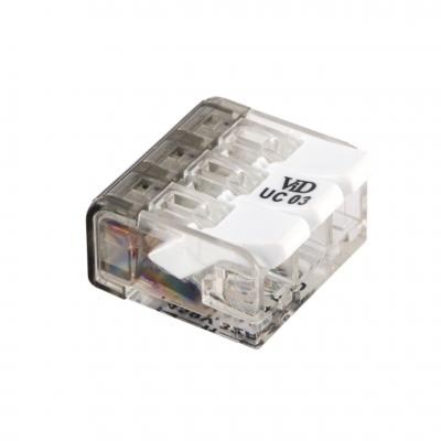 Schweißklemme / Verbindungsklemme - 3-fach - 3x4mm²