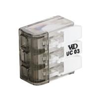 VID Lasklem / Verbindingsklem - 3-voudig - 3x4mm²