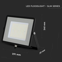 Samsung Samsung LED Fluter 100W - 12.000 Lumen - (120Lm/W) - 4000K