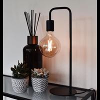 Calex Calex Industriële Tafellamp - Schwarz - E27 Fitting - Vintage Lampe