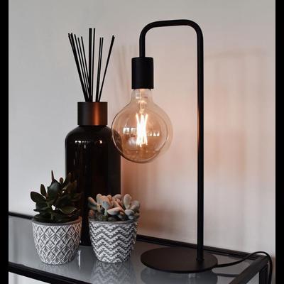 Calex Industrielle Tafellampe - Schwarz - Fassung E27 - Vintage Lampe