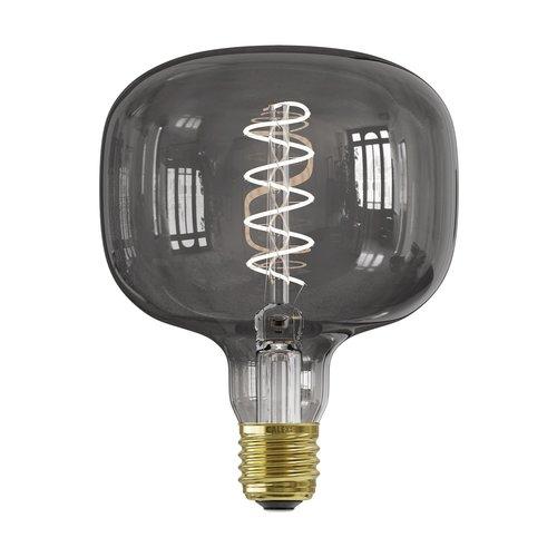 Calex Calex Rundo Smokey LED Lampe - E27 - 70 Lm - Vintage Lampe