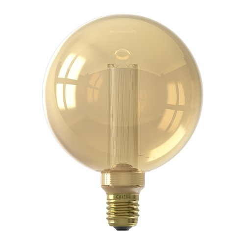 Calex Calex Globe LED Lampe G125 - E27 - 120 Lm - Gold - Vintage Lampe