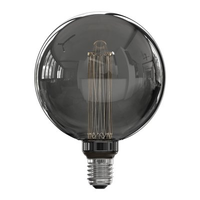 Calex Globe LED Lampe G125 - E27 - 40 Lm - Titan - Vintage Lampe