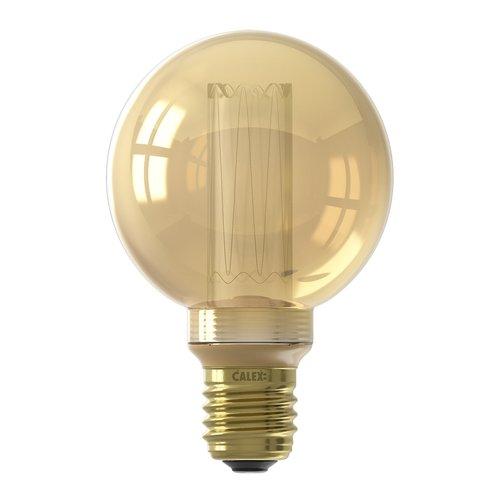 Calex Calex Globe LED Lampe G80- E27 - 100 Lm - Gold - Vintage Lampe