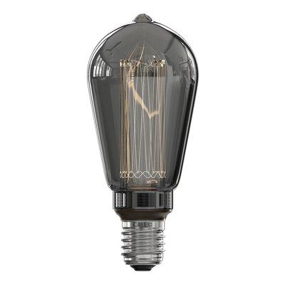 Calex Rustikal LED Lampe - E27 - 40 Lm - Titan - Vintage Lampe