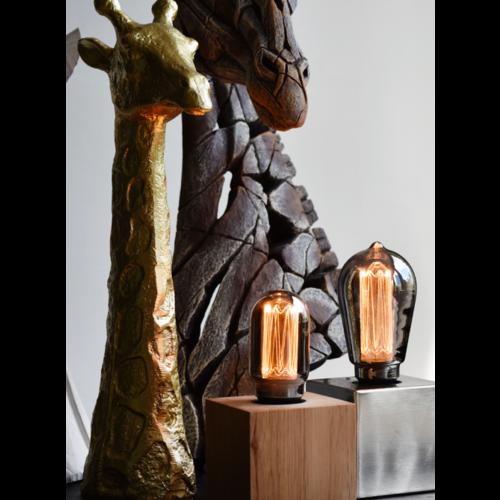 Calex Calex Rustikal LED Lampe - E27 - 40 Lm - Titan - Vintage Lampe