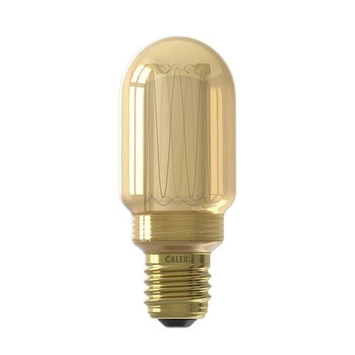 Calex Calex tubular LED Lampe - E27 - 120 Lm - Gold - Vintage Lampe