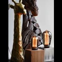 Calex Calex tubular LED Lampe - E27 - 40 Lm - Titan - Vintage Lampe