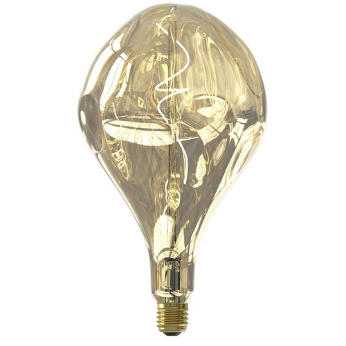 Calex Calex Organic Evo Champagne Led XXL Range 220-240V 100LM 6W 1800K E27 dimmable - Vintage Lampe