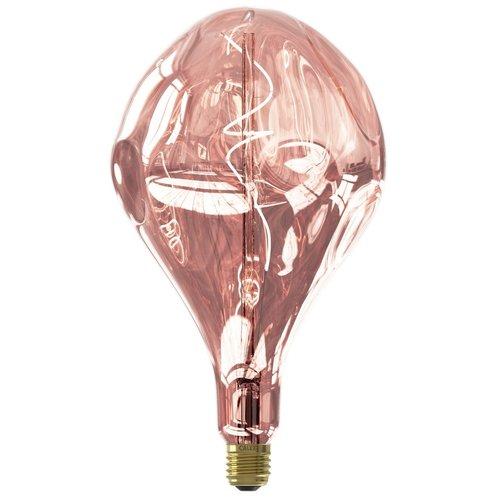 Calex Calex Organic Evo Rose Led XXL Range 220-240V 80LM 6W 1800K E27 dimmable, energy label B - Vintage Lampe