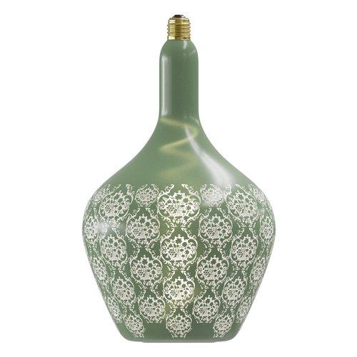 Calex Calex Versailles Vert Led Baroque 220-240V 5W 50lm 1800K E27 dimmable - Vintage Lampe