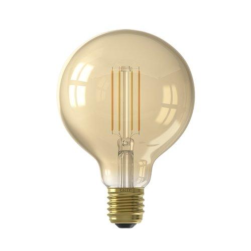 Calex Calex Smart LED Filament Gold Globe-lamp G95 7W - Vintage Lampe