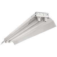 Beleuchtungonline.de Doppelte LED TL Armatur Reflektor IP22 - 120CM