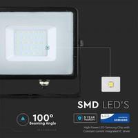 V-TAC Samsung LED Fluter 30W - 2400lm  - 6400K