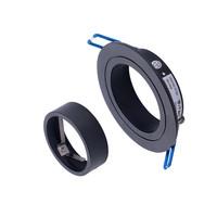 Beleuchtungonline.de Philips LED Einbaustrahler - 5W - Schwarz - Dimmbarer - 2700K - 3 Pack