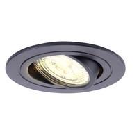 Beleuchtungonline.de Philips LED Einbaustrahler - 5W - Schwarz - Dimmbarer - 2700K - 6 Pack