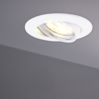 Philips Philips LED Einbaustrahler Weiß - Dimmbar - 5W - Warmweiß