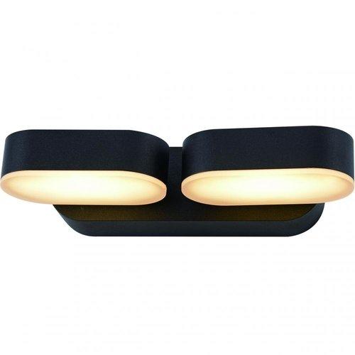 Beleuchtungonline.de LED Wandleuchte - Barcelona - Schwarz